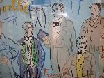 La lithographie de la bibliothèque sciences-STAPS : La Fée électricité de Raoul Dufy